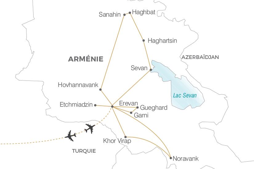 carte Armenie Secrets d Armenie Pouchkine Tours 19_286 374511