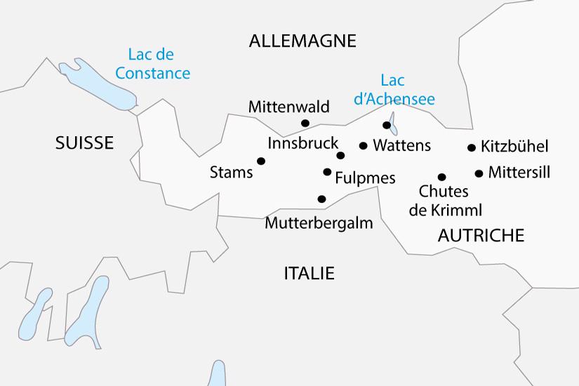 carte Autriche Le Tyrol en trains depart sud 2019_297 860755