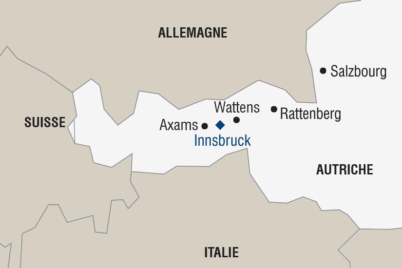 carte Autriche Les Marches de Noel au Tyrol SH SUD19 20_321 137378