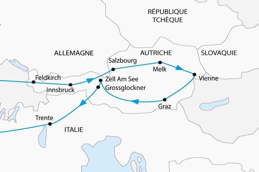 carte Autriche Vienne Imperiale depart sud 2019_297 744759
