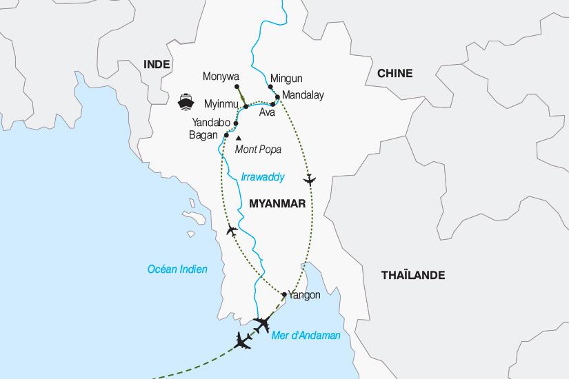 carte Birmanie Birmanie circuit et croisiere au fil de l Irrawaddy 2018_267 417252