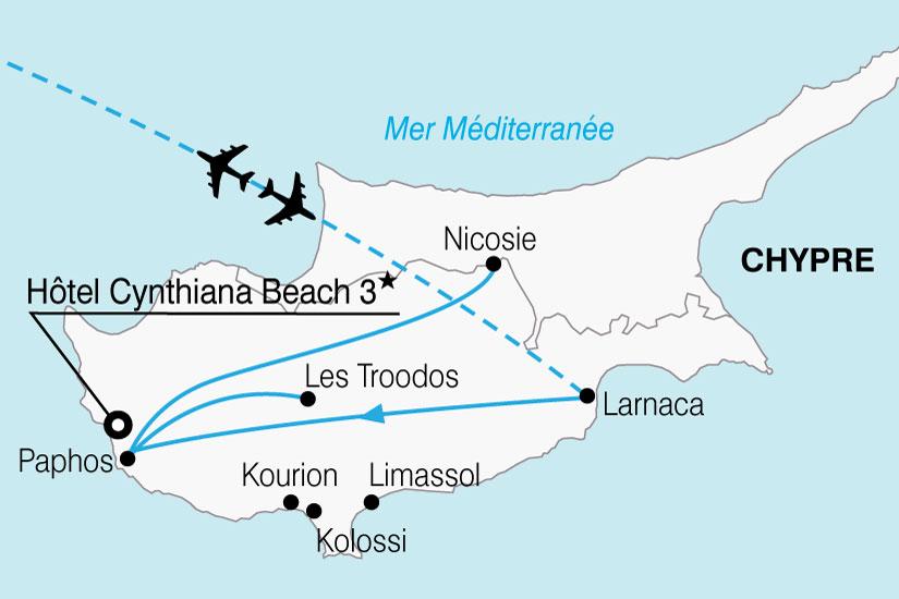 carte Chypre Mosaique Chypriote 322431
