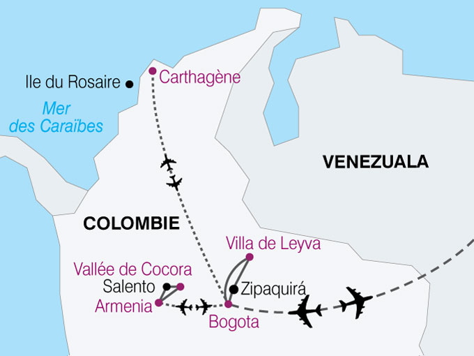 carte Colombie  nthiver 121534