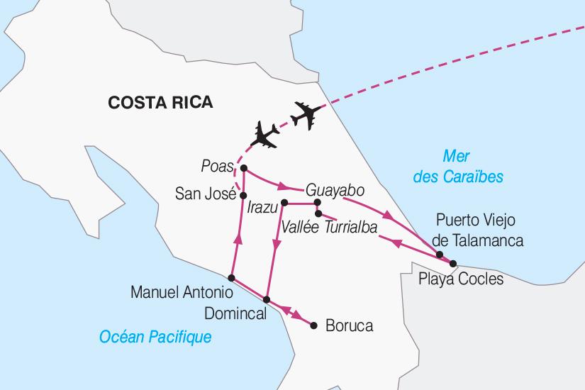 carte Costa Rica Authentique Costa Rica 2018_267 861460