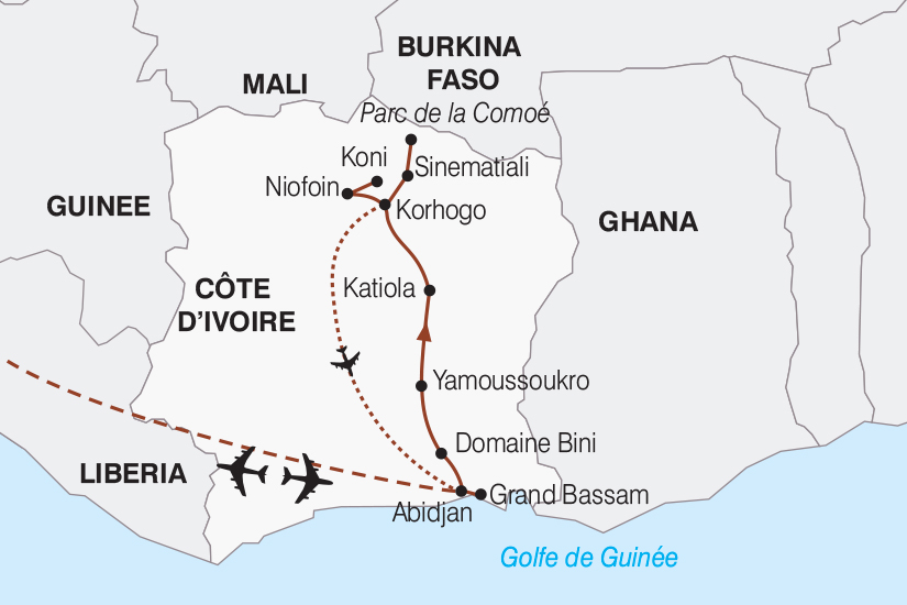 carte Cote d Ivoire Fascinante Cote d Ivoire 2018_267 615440