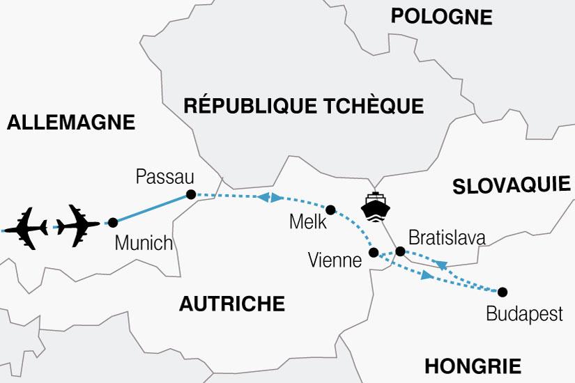 carte Croisiere Majestueux Danube 453426