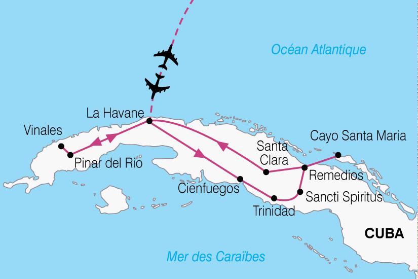 carte Cuba Essentiel Cuba 319480