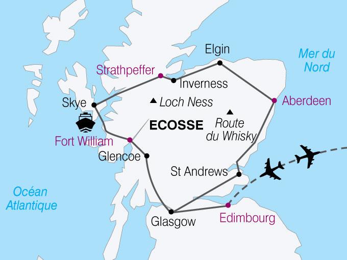 merveilles d ecosse circuit ecosse avec voyages auchan