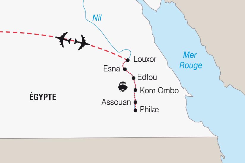 carte Egypte Noel ou Nouvel An sur le Nil_306 790278