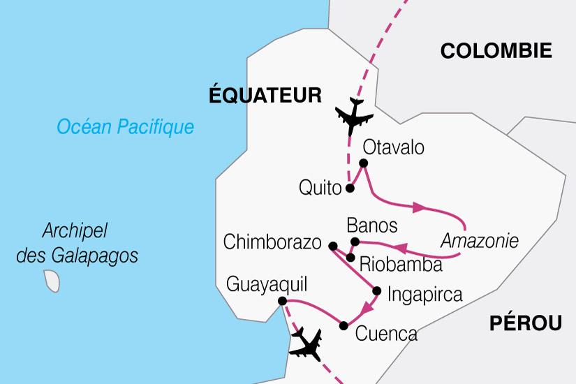 carte Equateur Mitad Del Mundo 758278