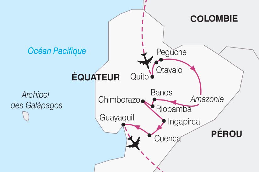 carte Equateur Mitad del Mundo SH19 20_319 316279
