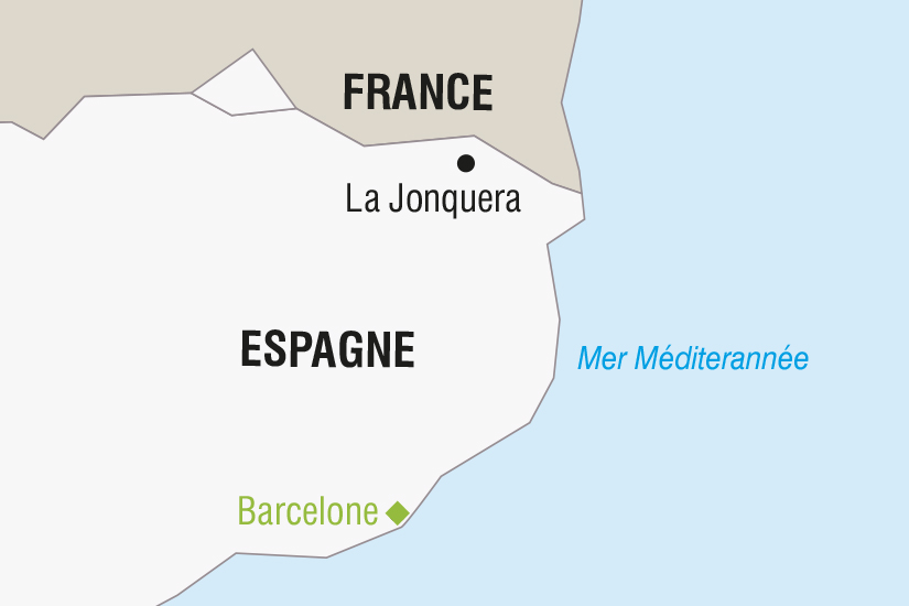 carte Espagne Barcelone SH SUD19 20_321 442102