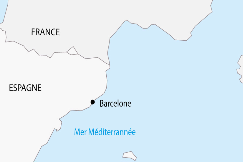 carte Espagne Barcelone depart sud 2019_297 545626