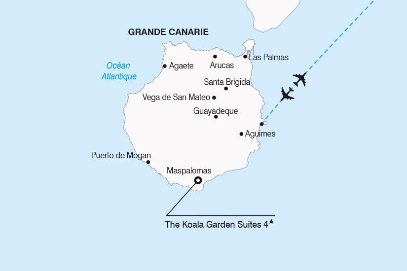 carte Espagne Canaries Escapade a Grande Canarie SH20_339 659502