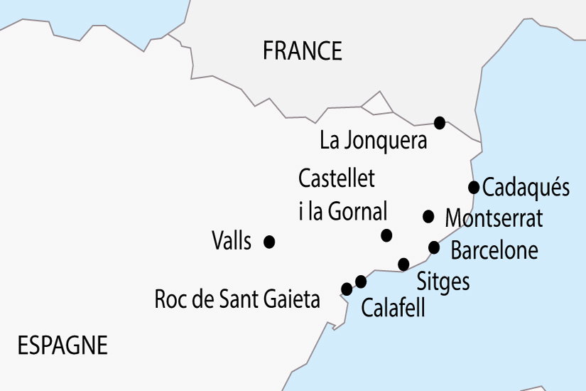 Carte Circuit Barcelone.Circuits Barcelone Espagne Pas Cher Lidl Voyages