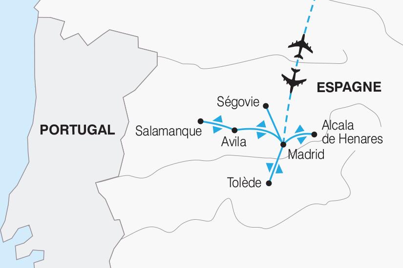 carte Espagne Des Chateaux en Espagne 2019_292 400724