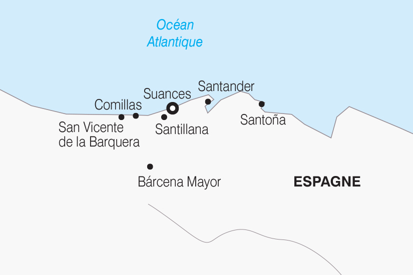 carte Espagne La Cantabrie SH 21 22_382 514096