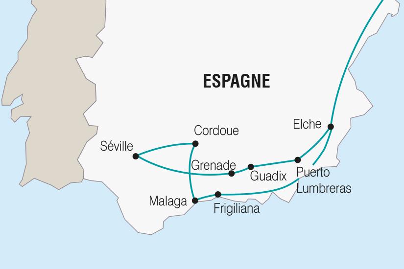 carte Espagne La Semaine Sainte en Andalousie SH SUD19 20_321 578425