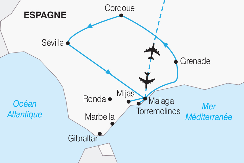 carte Espagne Les tresors d Andalousie 2019_292 658952