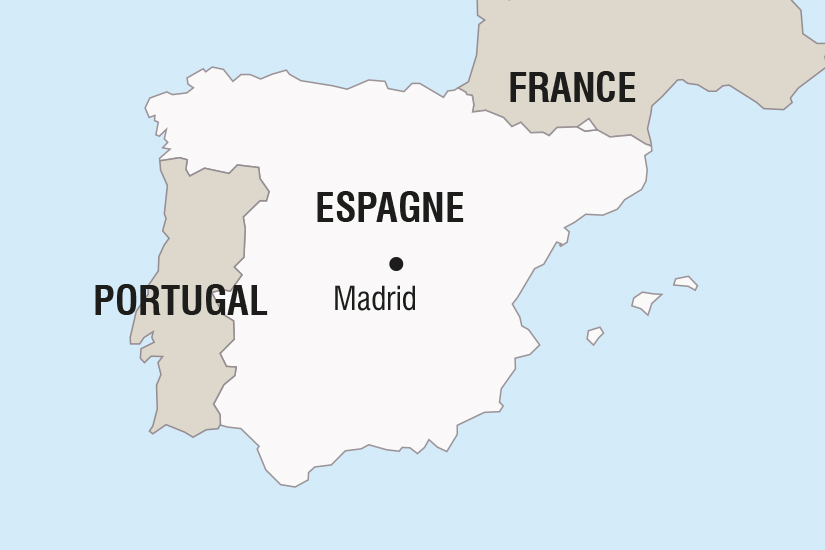 carte Espagne Madrid Coeur de l Espagne SH SUD19 20_321 489689