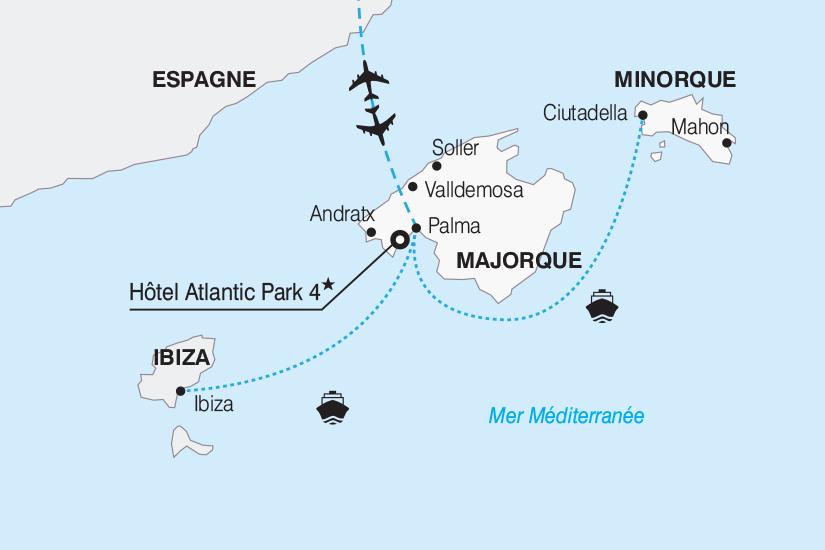 carte Espagne Majorque et les perles des Baleares 2019_292 698693