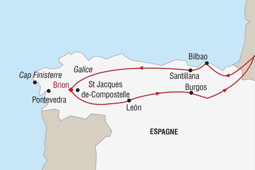 carte Espagne Nouvel An Galice_348 376111