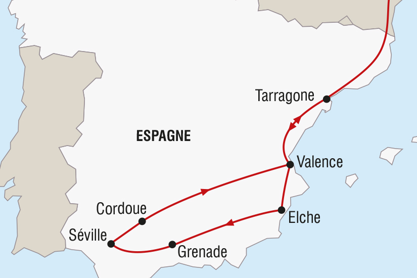 carte Espagne Reveillon Andalou a Seville SH SUD19 20_321 552758