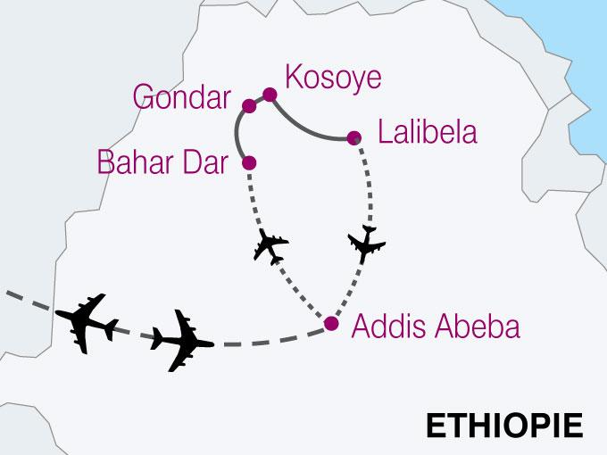 carte Ethiopie Traditions Cultures Amhariques  nthiver 840243