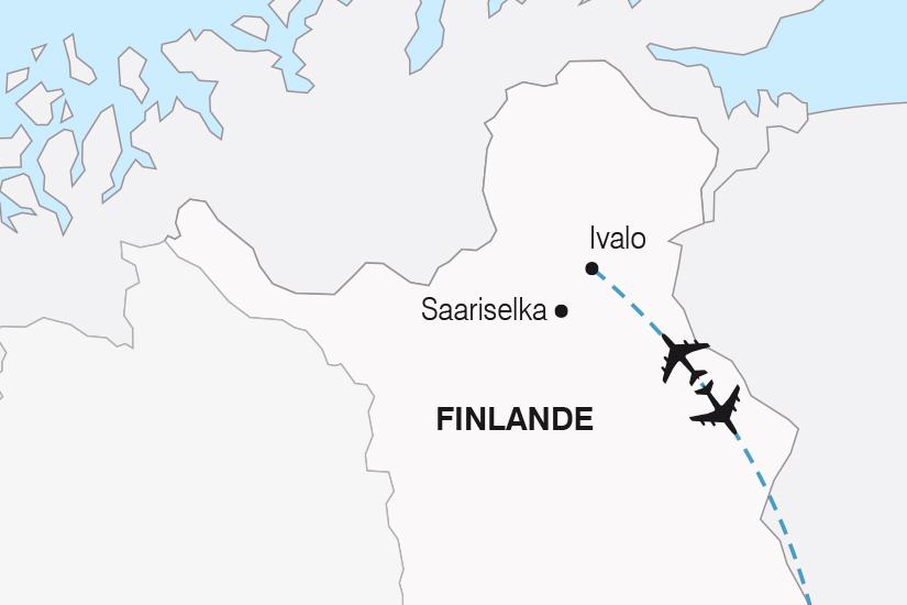 carte Finlande Charme Hivernal de Laponie SH19 20_319 321033