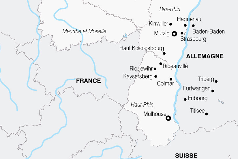 carte France Alsace 338237