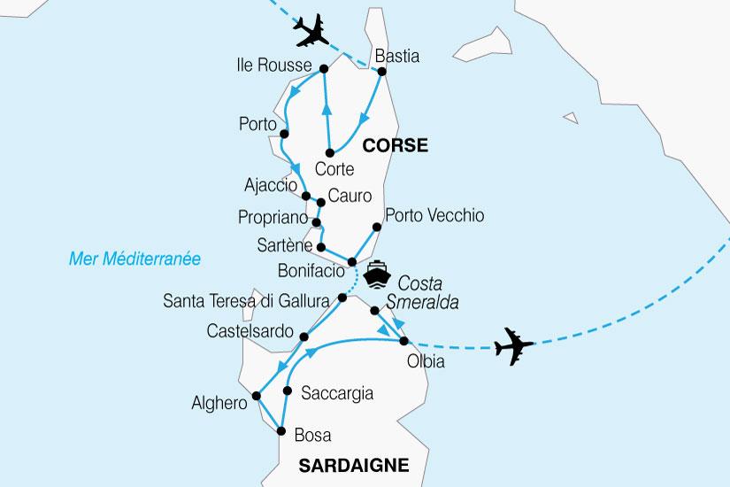 Liste Villes Sardaigne