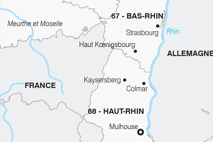 carte France L Alsace SH20_339 484254