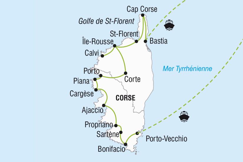 carte France La Corse ile de Beaute SH SUD19 20_321 795282
