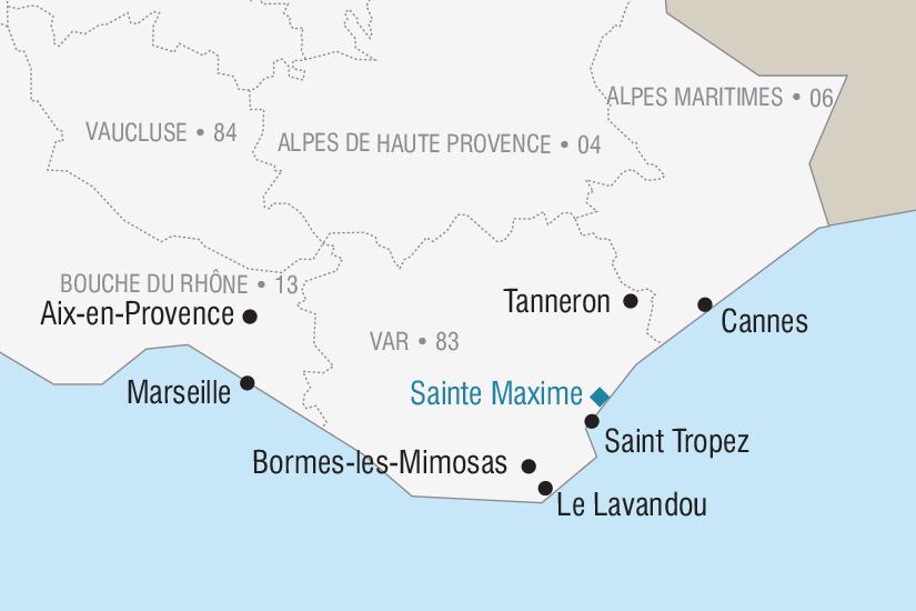 carte France La Fete des Fleurs au Lavandou 2018 2019_251 897693