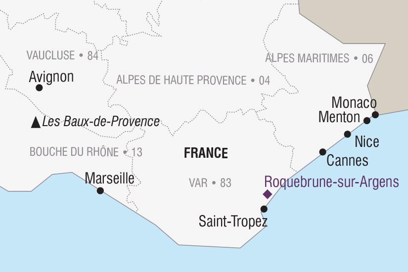 carte France Le Carnaval de Nice et la Fete du Citron a Menton_306 471484
