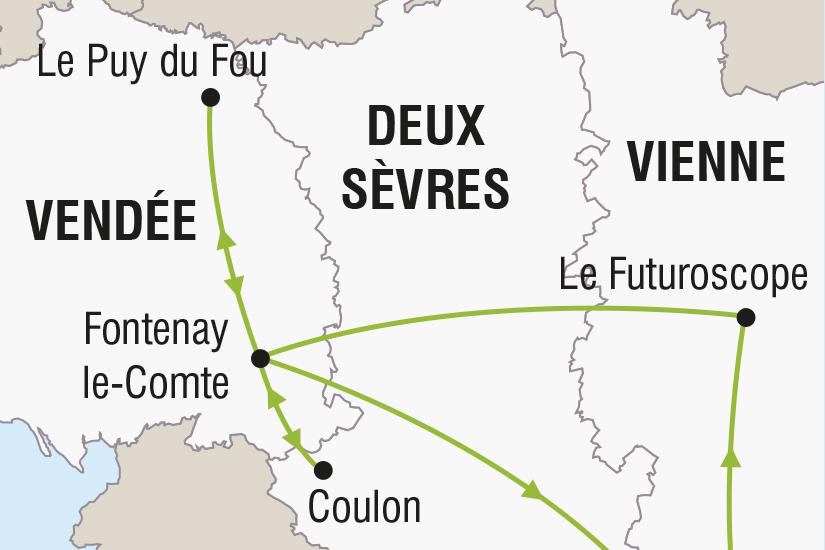 carte France Le Futuroscope le Puy du Fou SH SUD19 20_321 495173