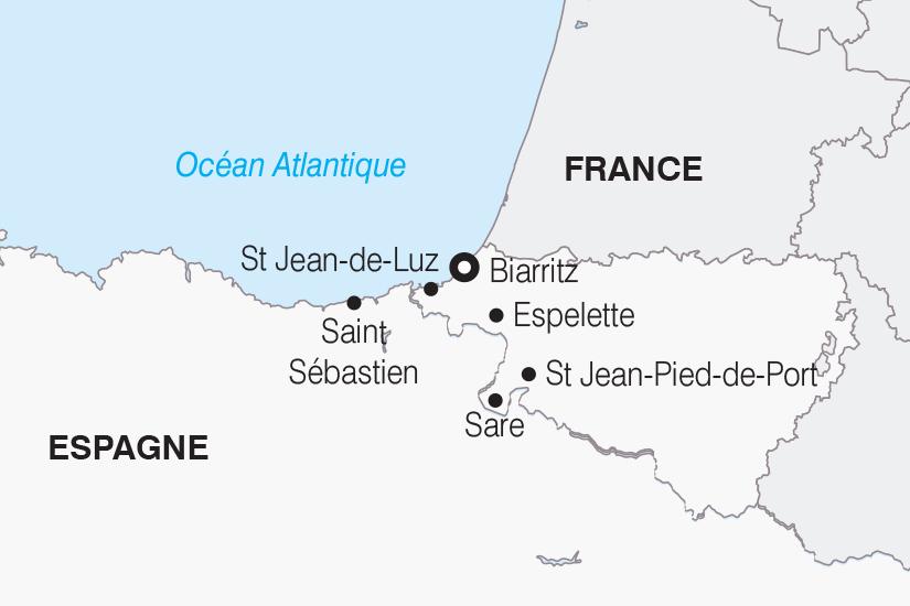 carte France Le Pays Basque SH 21 22_382 321014