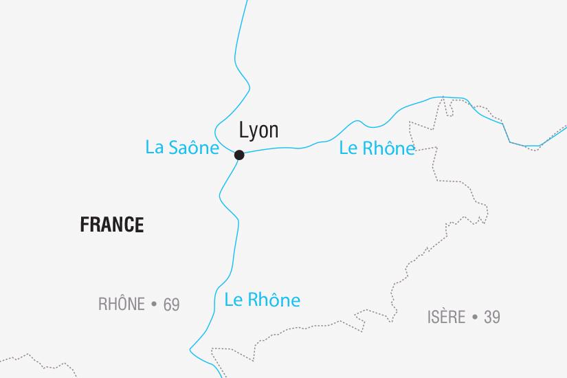 (Map) carte France Lyon La Fete des Lumieres SH SUD19 20_321