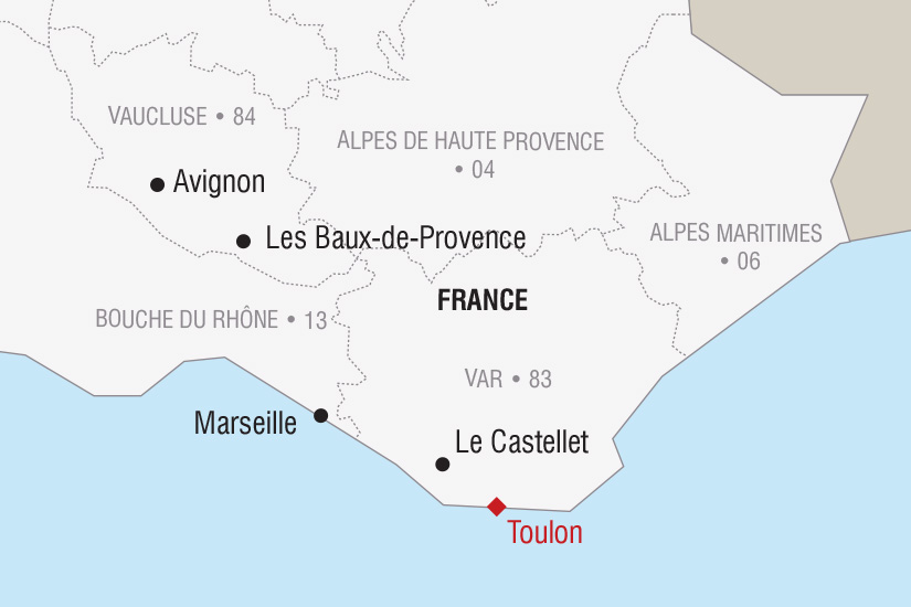 carte France Nouvel An dans le Var_306 447499