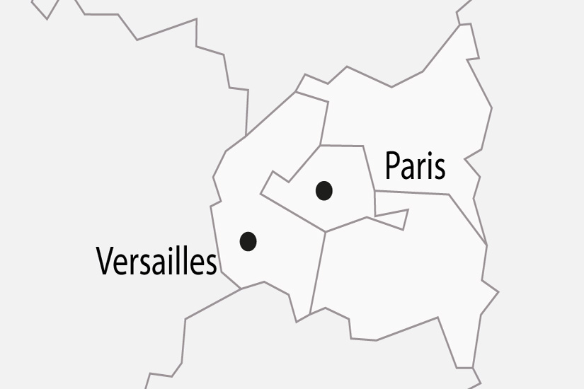 carte France Paris Chateau de Versailles depart sud 2019_297 265766