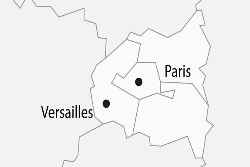 carte France Paris Chateau de Versailles depart sud 2019_297 617030