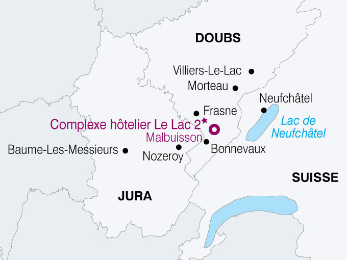 carte France Voyage Pays Jurassien  nthiver 471737