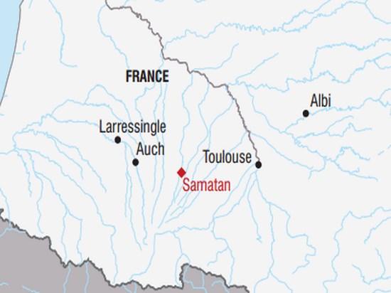 carte France reveillon gourmand dans le gers 509445