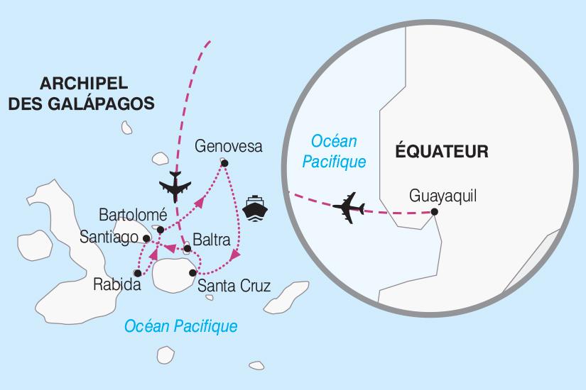carte Galapagos Croisiere aux Galapagos 2018_267 507208