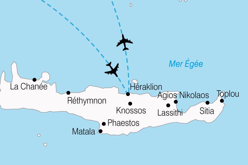 carte Grece Crete Autotour 314197