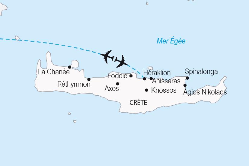 carte Grece Crete Escapade Cretoise SH20_339 819490