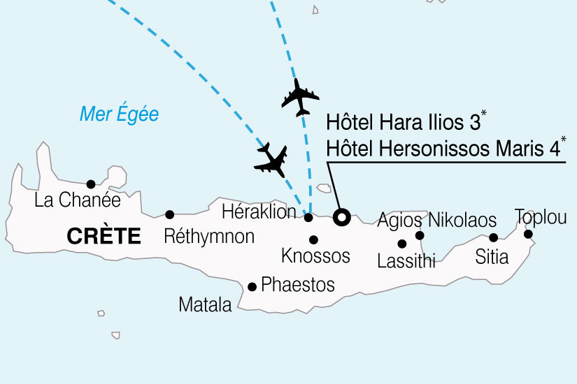 carte Grece Crete Hotels HaraIlios Hersonissos 843650