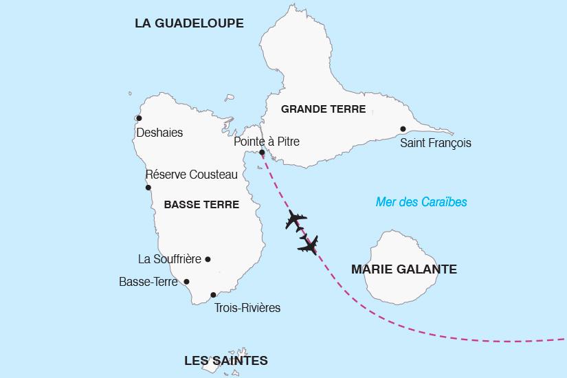 carte Guadeloupe Decouverte de l Archipel Guadeloupeen SH19 20_319 725986