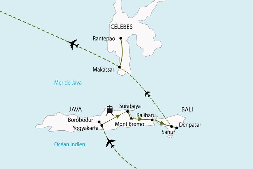 carte Indonesie JavaBaliCelebes 261241