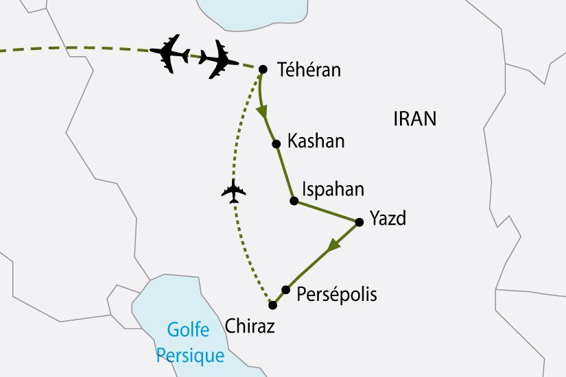 carte Iran Essentiel 360239